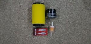 brigg and stratton filter kit late v twin  mtd  husqvarna  ngk spark plugs