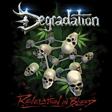 DEGRADATION - Revelation In Blood (NEW*US TECH/SPEED METAL*F. ENTRY*D.HAMMER)