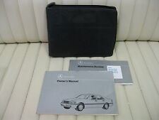 1995 Mercedes Benz C220 C280 C36 AMG Car Owners Instruction Manual