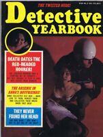 ORIGINAL Vintage December 1973 Detective Yearbook Magazine GGA