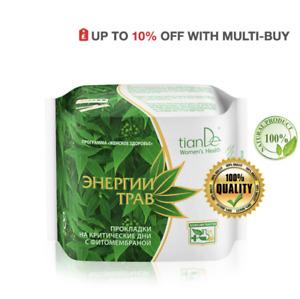 TianDe Herbal Energy Day Phyto - Membrane Sanitary pads,8pcs