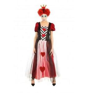 Costume Regina di cuori Alice in wonderland