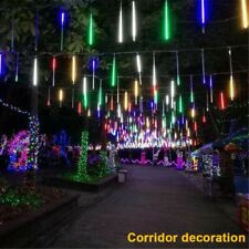30cm Home LED Lights Meteor Shower Rain Xmas Snowfall Street Tree Outdoor Lights