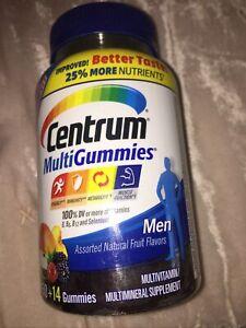 CENTRUM MULTIGUMMIES MEN NATURAL FLAVORS 150 GUMMIES EACH N