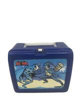 Vintage 1982 DC Comics Batman & Joker Blue Plastic Lunchbox No Thermos