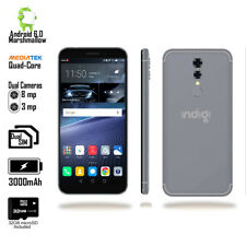 "NEW!! GSM 4G Unlocked 5.6"" QuadCore Android 2SIM SmartPhone + Fingerprint Access"
