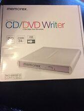 Memorex USB External Multi Format Slim CD / DVD Writer Burner 98251