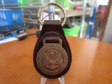 United States Department of The Army Leather Key Fob #1500