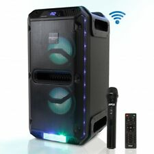 Pyle PWMKRDJ89BT Bluetooth PA speaker & Microphone System Portable (500 Watt)
