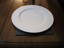 White porcelain plate - Large 29cm dinner plate  Vavro  UAE