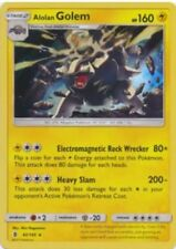1x Alolan Golem - 42/145 - Holo Rare - Holo S&M Guardians Rising NM Pokemon