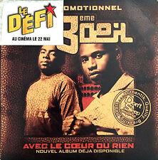 Le 3ème Œil CD Single Avec Le Coeur Ou Rien - Promo - France (G+/EX)