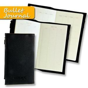 Pocket Sized Leather Bullet Journal