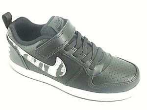 Nike Court Borough Low Boys Shoes Trainers Uk Size 12.5 - 2  870025 005