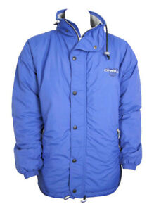 O'Neill Solid Vintage 1995 Mens Retro Winter Ski Jacket Coat (Blue) - L