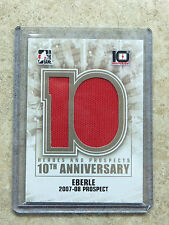 13-14 ITG H&P Heroes Prospects 10th Anniversary Jersey #AP-83 JORDAN EBERLE /90