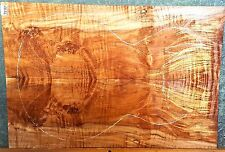 Spalted Curly Maple #7299 Luthier Solid Body Guitar Top set 22 x 15 x 3/8
