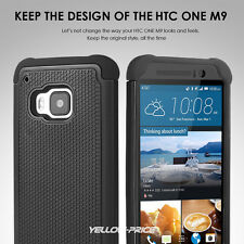 Real Glass Screen Film 2 Layer Drop Protection Anti-Shock/Dirt For HTC One M9