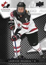 Lauriane Rougeau #55 - 2018 Team Canada Juniors - Base Women