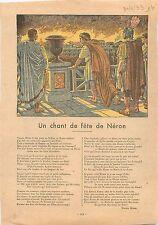 Fire Nero Rome Neron Incendie Roma Domus aurea  Roman Empire Romain 1933