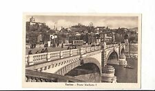 BF16818 torino ponte umberto I italy  front/back image