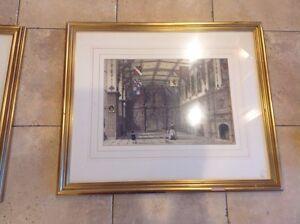 Joseph Nash Antique Mansions Of England Chromolithograph Print Audrey Hall ESSEX