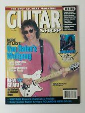 GUITAR SHOP MAGAZINE JULY 1997 VAN HALEN'S WOLFGANG AEROSMITH PEAVEY ROLAND M143