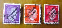 EBS Germany 1945 Meissen Locals - Hitler Deutschlands Verderber Michel 32-34 CTO