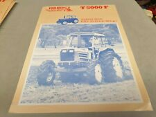1980s ? ISEKI T5000F Tractor  Sales Leaflet