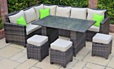 Unbranded Dining Set Up to 8 Seats Garden & Patio Furniture Sets