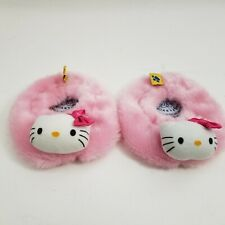 Build A Bear Workshop BABW Hello Kitty Pink White Slippers Shoes