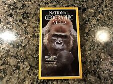 National Geographic Video New Sealed Vhs! PBS. Discovery Channel. Nature Channel