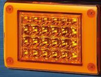 12/24V AMBER LED Jumbo Tail light Insert, Truck,Bus,Ute,Trailer,Caravan PN 26007