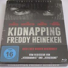 Kidnapping Freddy Heineken - Blu-ray/NEU/Thriller/Anthony Hopkins/Steelbook