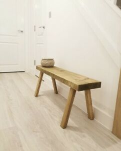 Handmade Rustic Wooden Bench, Seat, Rustic Decor, Rustic Table, Milking Stool