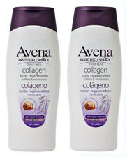 2 x Avena Instituto Español Collagen Regeneration Hand & Body Lotion | 17 Fl Oz
