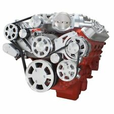All Inclusive Chevy Lsa Supercharged Serpentine Kit- Ac, Power Steering, Alt Sc