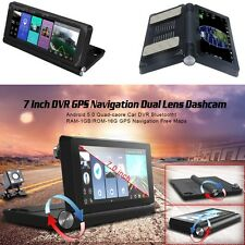 "7"" Touch Screen Vehicle Car Center Console DVR GPS Video Recorder G-sensor ADAS"