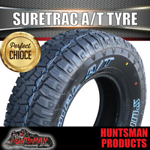 Suretrac 235/85R16 L/T 120/116S All Terrain Tyre.  235 85 16 High Km's Brand new