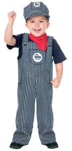 Train Engineer Toddler Halloween Costume