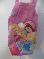 Disney Princess Girls Canvas Drink Bottle Holder Pink Shoulder Strap