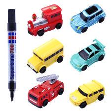 Great Follow the Drawn Line Magic Pen Inductive Toy Car Truck Tank + Pen Battery