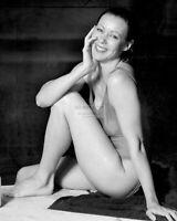 JENNY AGUTTER BRITISH ACTRESS PIN UP - 8X10 PUBLICITY PHOTO (DD487)