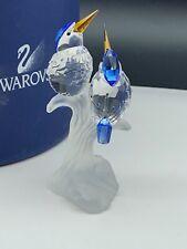 Swarovski Figurine 623323 Kingfishers 10,2 cm Boxed & Zertifikat. Top Condition