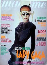 Mag 2011: LADY GAGA_JANUARY JONES_TAYLOR MOMSEN_CAT STEVENS_FREDERIQUE BEL