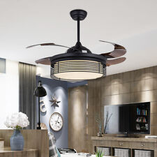 "42"" Ceiling Fan with LED Light and Remote Control Color Temperature Adjustable"