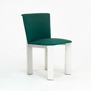 Prototype Richard Shultz for Steelcase Sheet Metal Dining Chair from Circa 1985