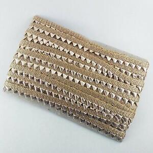 Gota Border Lace for Dresses, Sarees, Lehenga, Dupatta & Crafts By The Yard