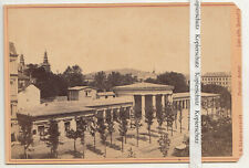 Albumin Foto de Gabinete Aachen Alrededor 1880 Schoenscheidt Coeln (F2580