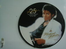 MICHAEL JACKSON Thriller 25 Year Anniversary PICTURE DISC LP EPIC